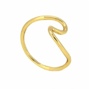 anillo ola oro