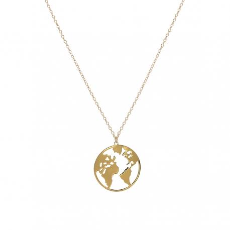 ahorrar comprar gran venta Collar Mundo Dorado