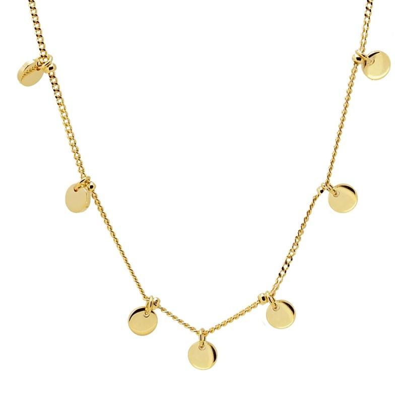 mejor venta Moda ventas especiales Collar medallas oro - La Percha de Girona